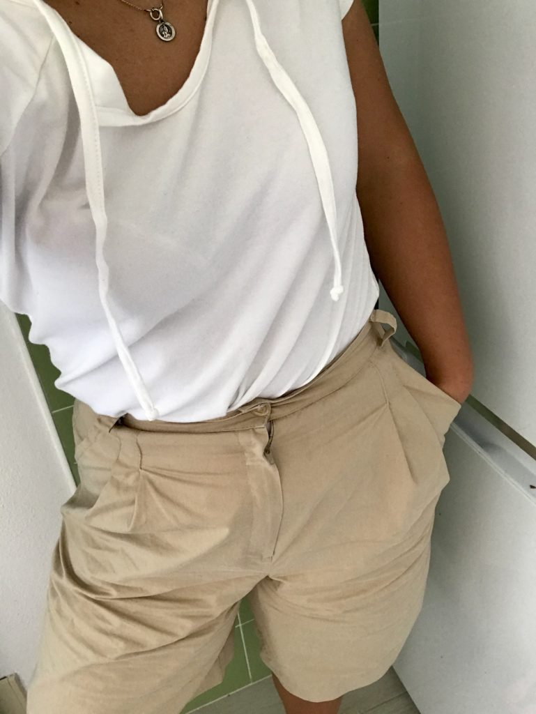 Tshirt e calções   Recebidos pelo grupo de doações